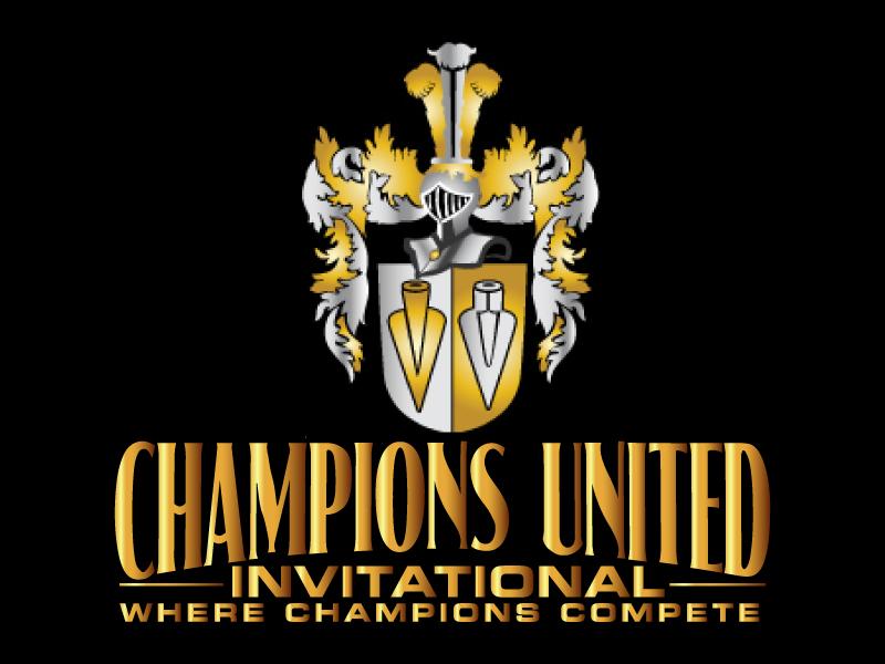 "Champions United Invitational - ""Where Champions Compete!"" logo design by ElonStark"
