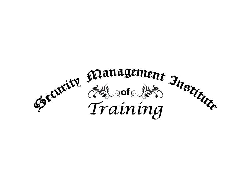 Security Management Institute of Training logo design by Saraswati
