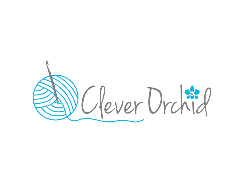 Clever Orchid logo design by luckyprasetyo