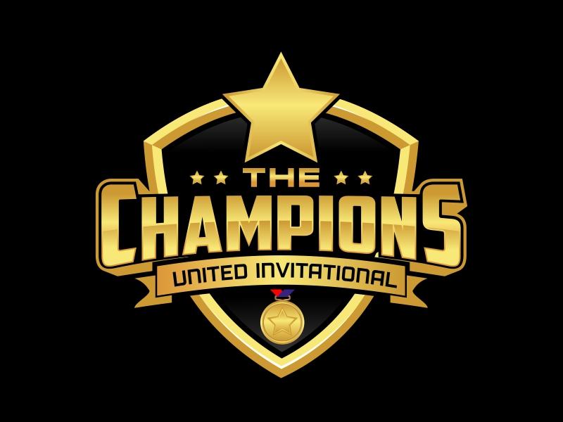 """Champions United Invitational - """"Where Champions Compete!"""" logo design by rizuki"""