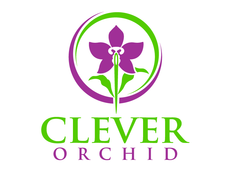 Clever Orchid logo design by jaize