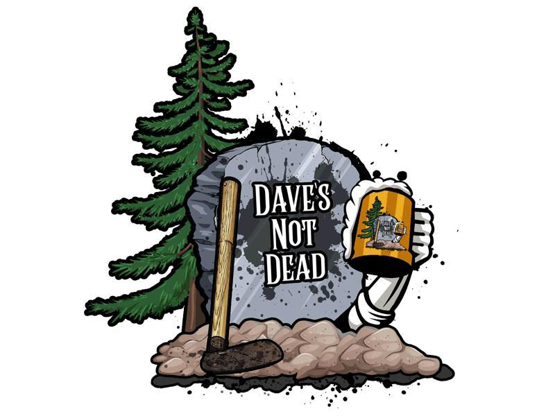 Dave's Not Dead Logo Design