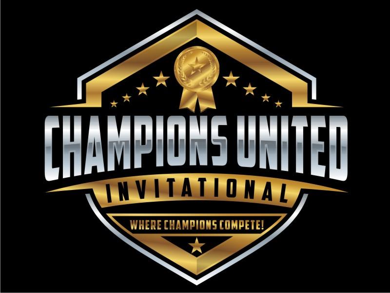 """Champions United Invitational - """"Where Champions Compete!"""" logo design by Arto moro"""
