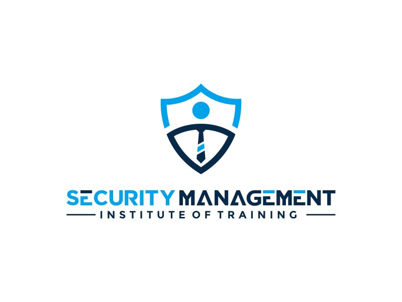 Security Management Institute of Training logo design by ubai popi
