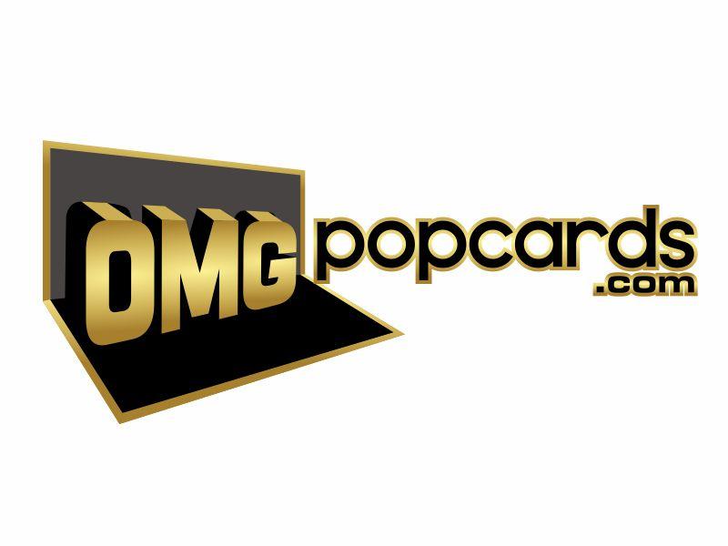 OMGpopcards.com Logo Design