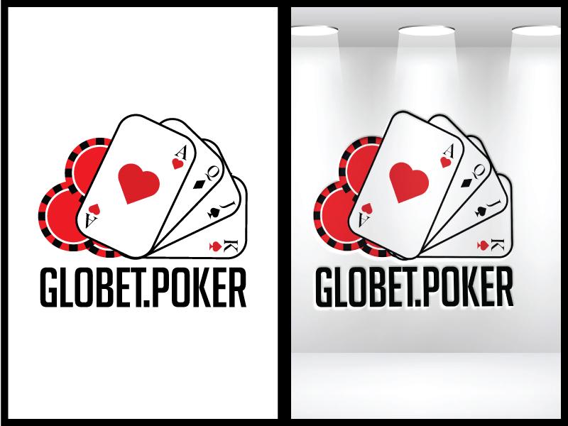 Globet.poker logo design by Mezzala