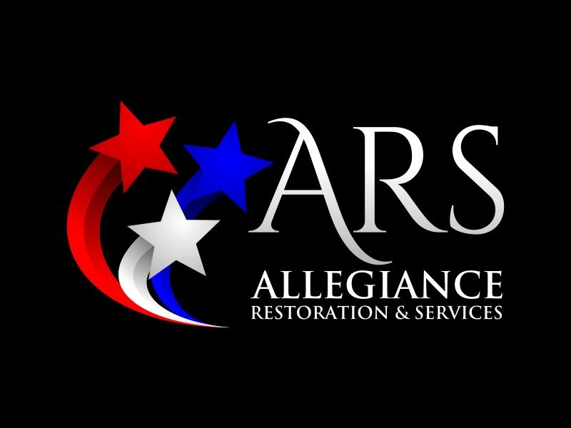 Allegiance Restoration & Services Logo Design