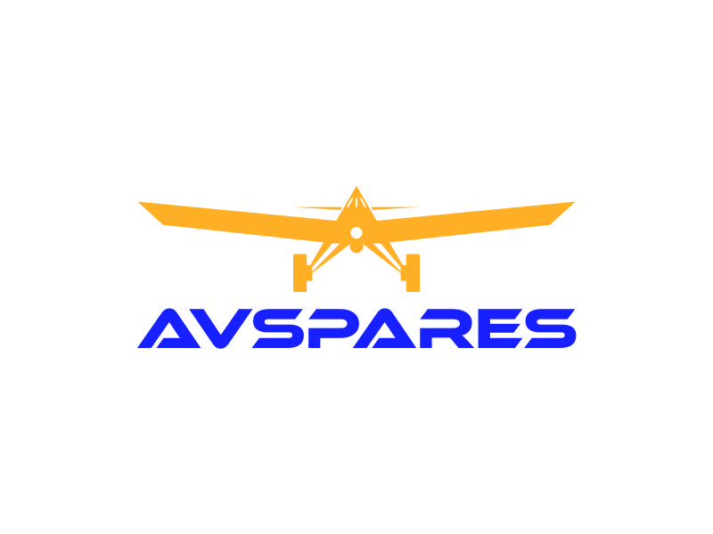 AVSpares logo design by azizah