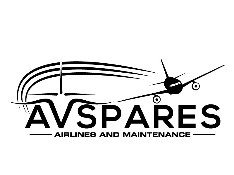 AVSpares logo design by LogoQueen