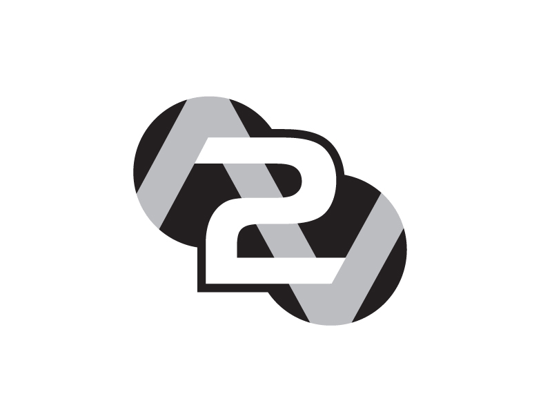 I need to have a current logo modified to have a 2 included in it logo design by aRBy