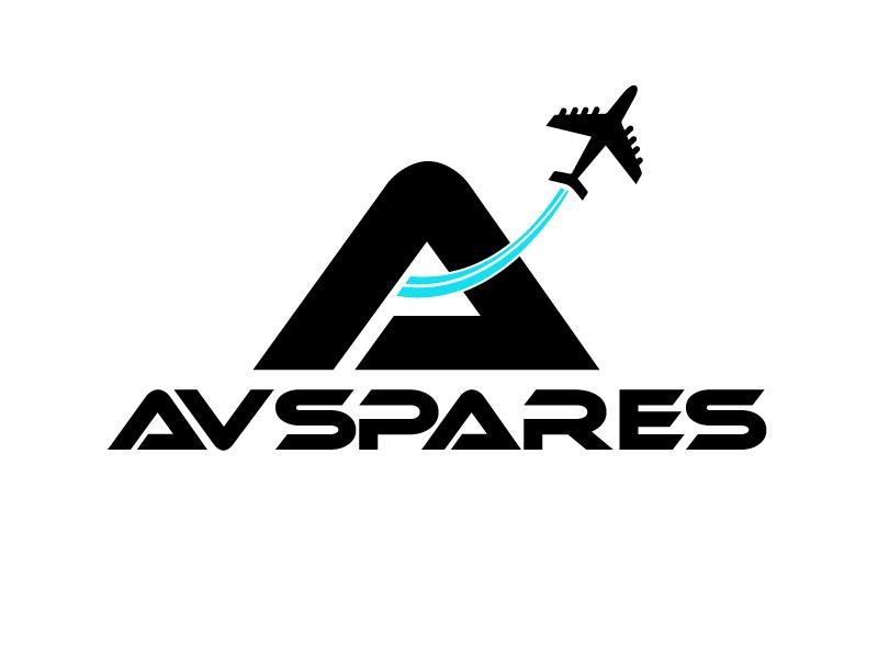 AVSpares logo design by ElonStark