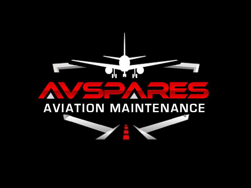 AVSpares logo design by kunejo
