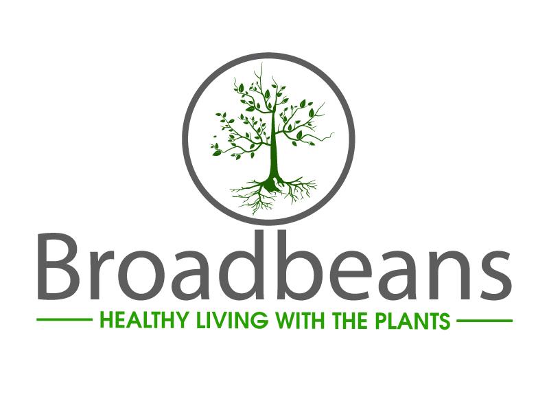 Broadbeans logo design by ElonStark