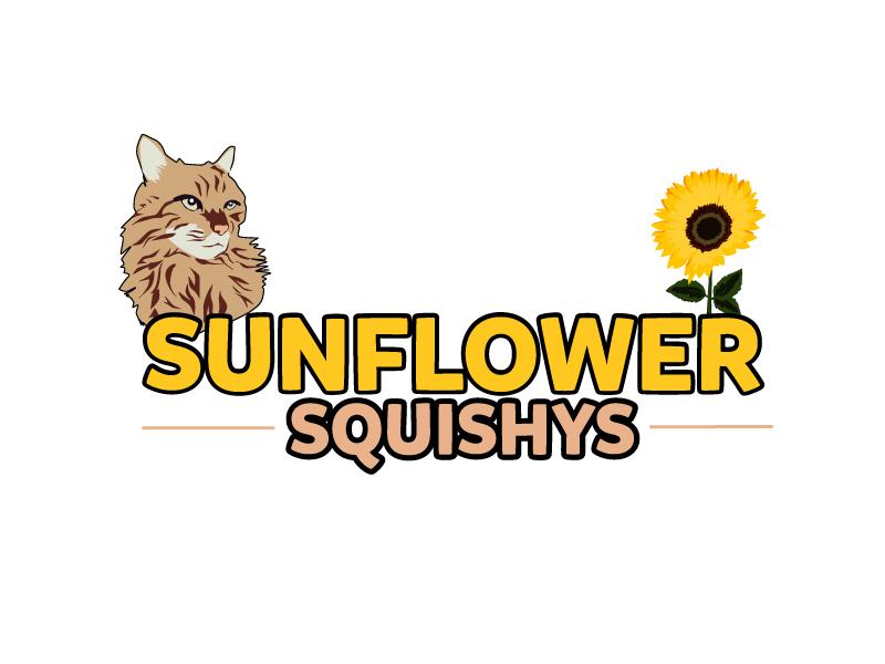 Sunflower Squishys logo design by ElonStark