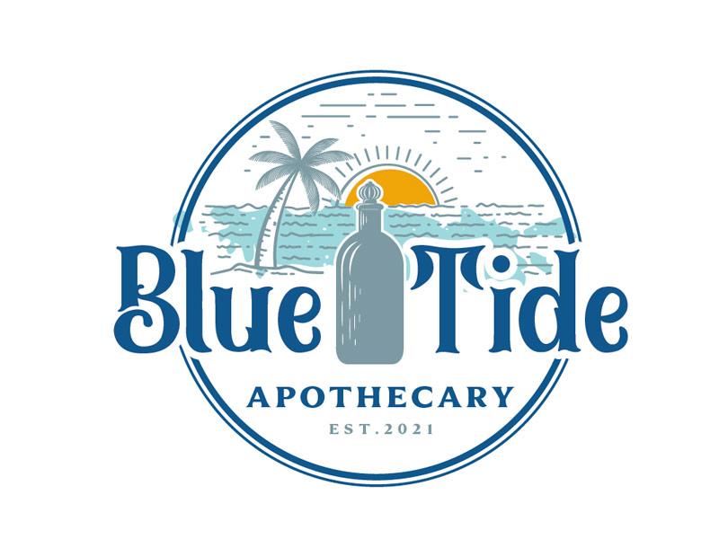 Blue Tide Apothecary logo design by gogo