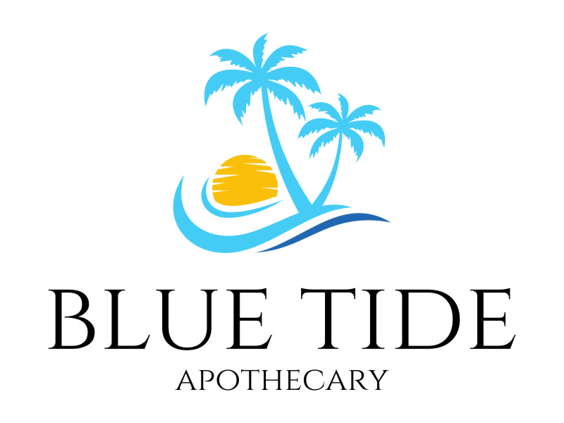 Blue Tide Apothecary logo design by jetzu