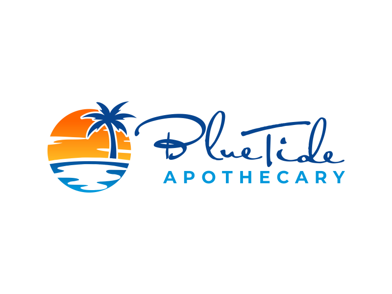 Blue Tide Apothecary logo design by cikiyunn