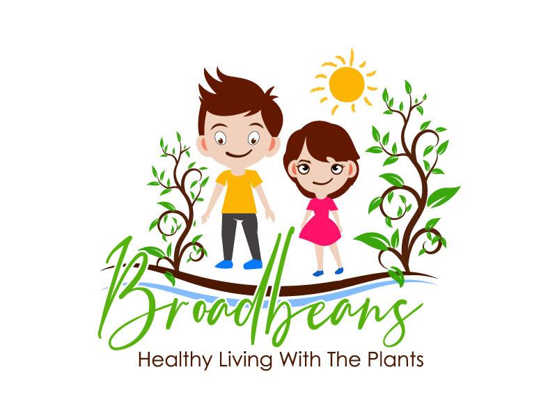 Broadbeans logo design by aryamaity