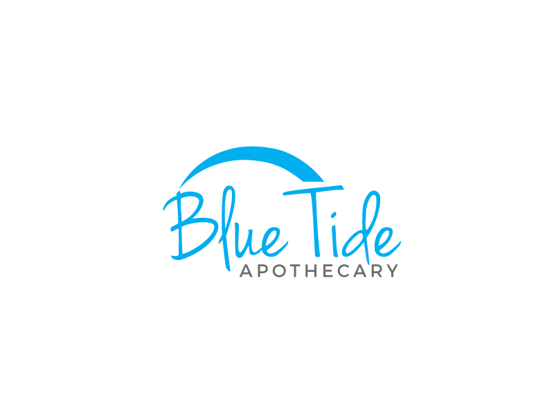 Blue Tide Apothecary logo design by gilkkj