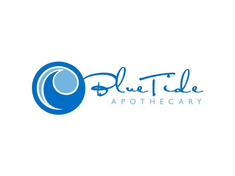 Blue Tide Apothecary logo design by samueljho