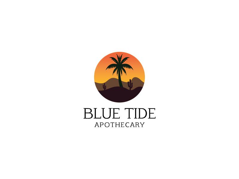 Blue Tide Apothecary logo design by Saraswati