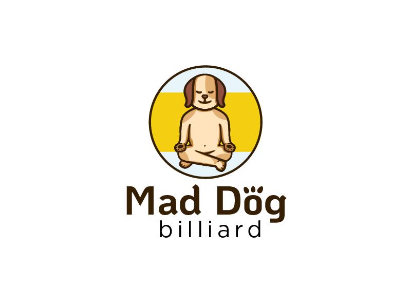 Mad Dog Billiards logo design by KaLiv StradLin