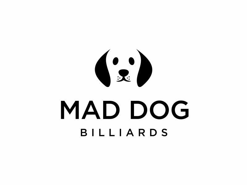 Mad Dog Billiards logo design by DiDdzin