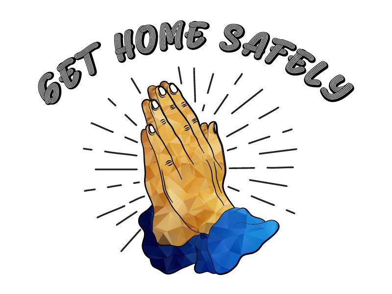 Get Home Safely logo design by yondi