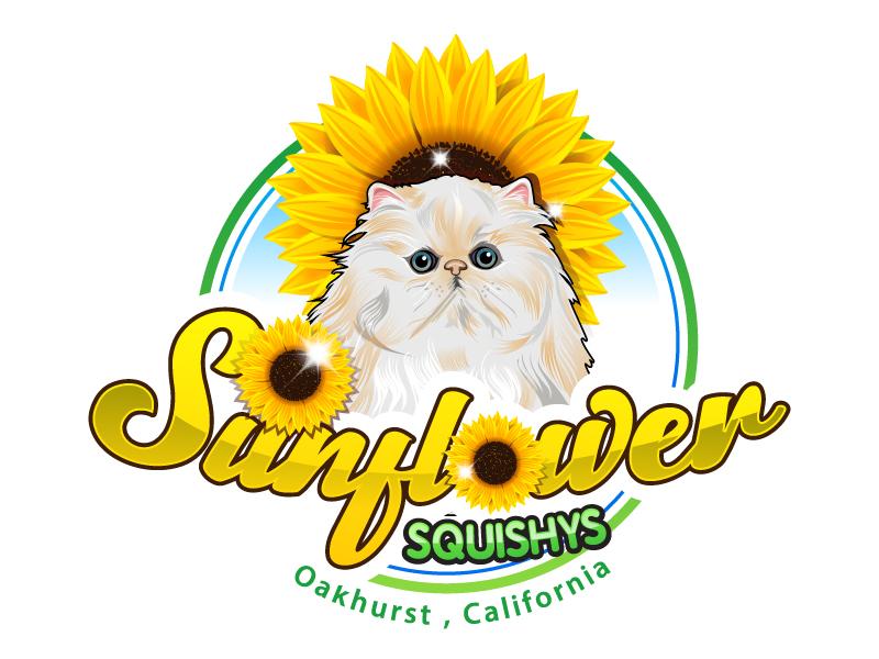 Sunflower Squishys logo design by uttam