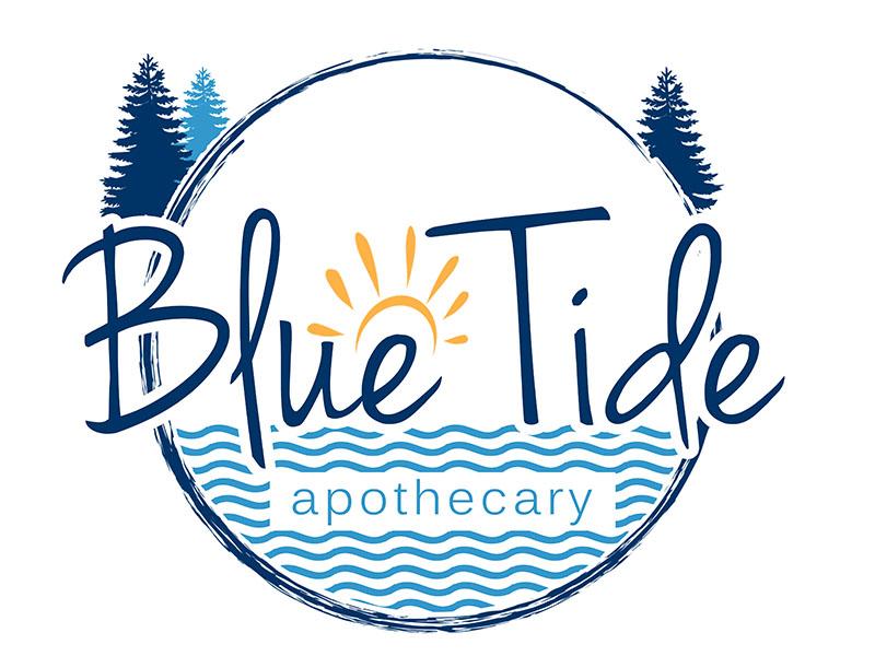 Blue Tide Apothecary logo design by 3Dlogos