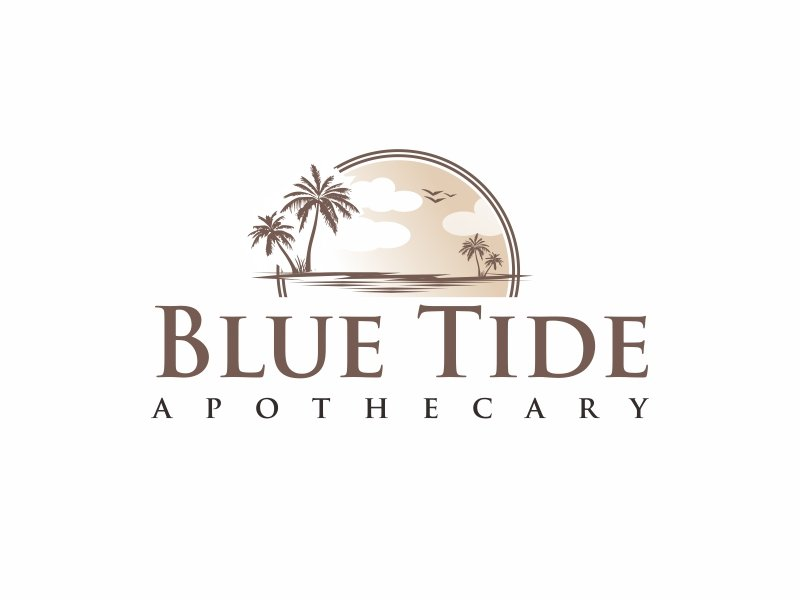 Blue Tide Apothecary logo design by Greenlight