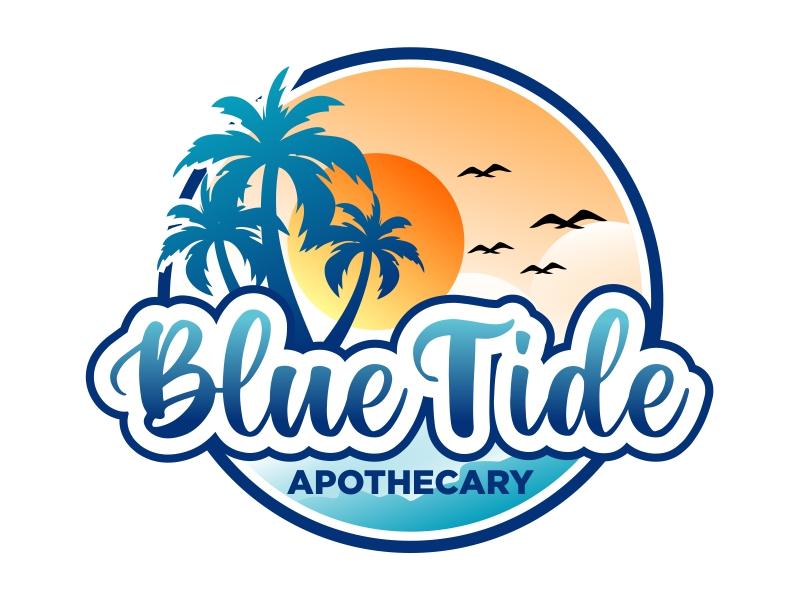 Blue Tide Apothecary logo design by cintoko