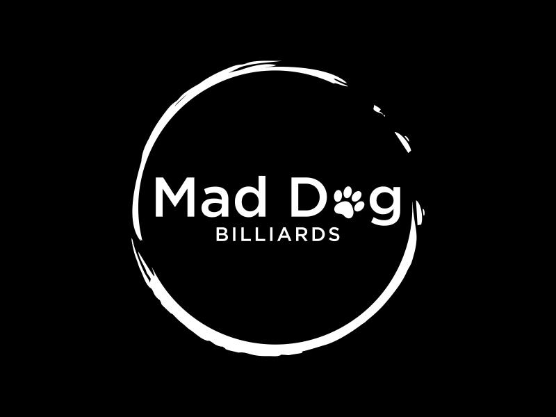 Mad Dog Billiards logo design by luckyprasetyo