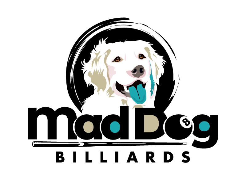 Mad Dog Billiards logo design by PRN123