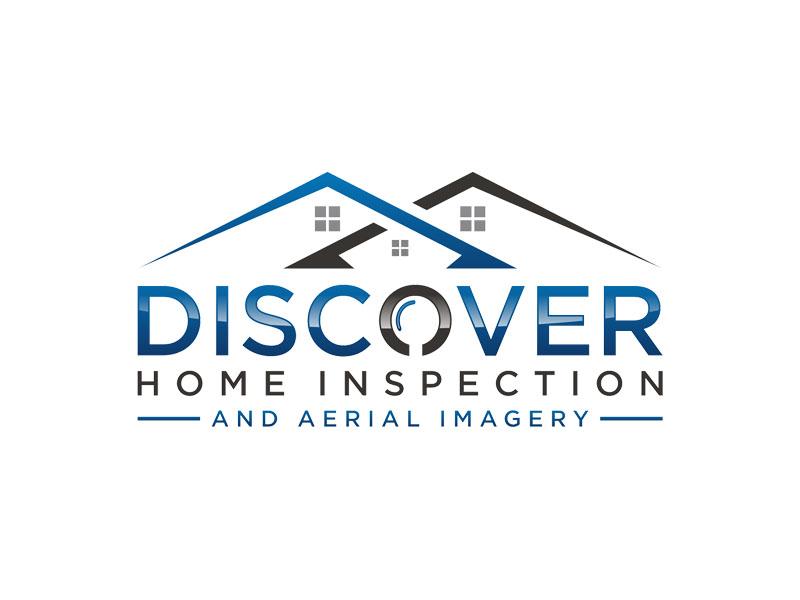 Discover Home Inspection Logo Design