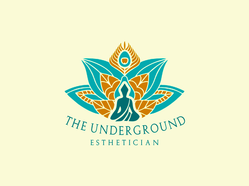 The Underground Esthetician.........it's deeper than just a facial logo design by MCXL