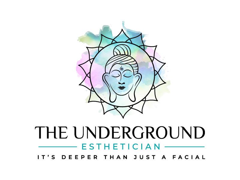 The Underground Esthetician.........it's deeper than just a facial logo design by Bhaskar Shil