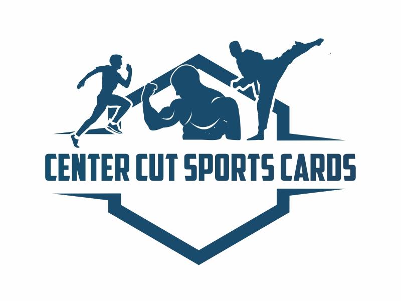 Center Cut Sports Cards logo design by Greenlight
