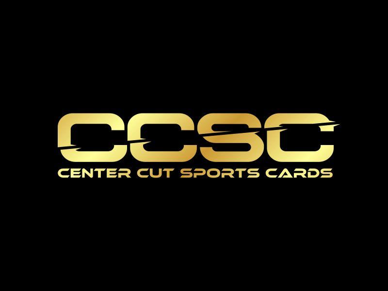Center Cut Sports Cards logo design by Dhieko