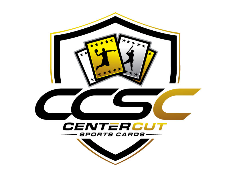 Center Cut Sports Cards logo design by REDCROW