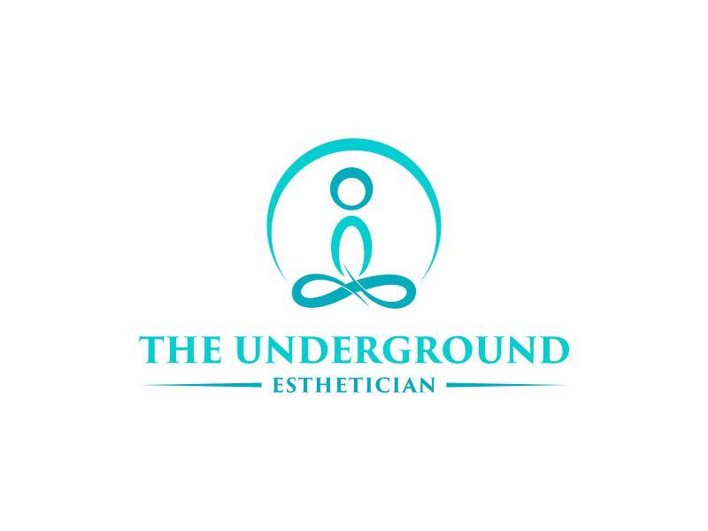 The Underground Esthetician.........it's deeper than just a facial logo design by zegeningen