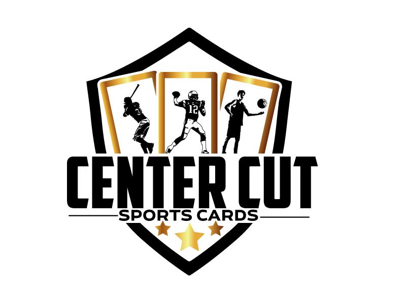 Center Cut Sports Cards logo design by ElonStark