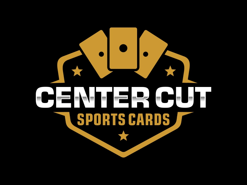 Center Cut Sports Cards logo design by AnandArts