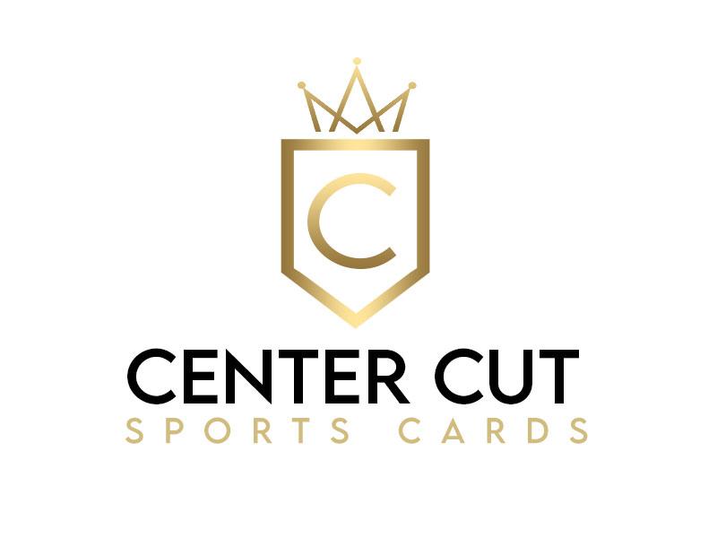 Center Cut Sports Cards logo design by kunejo