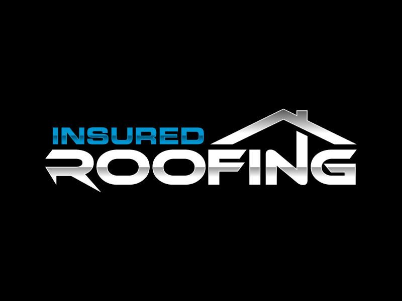 Insured Roofing Logo Design Logo Design