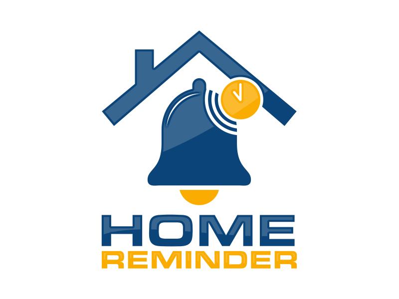 Home Reminder logo design by MarkindDesign™