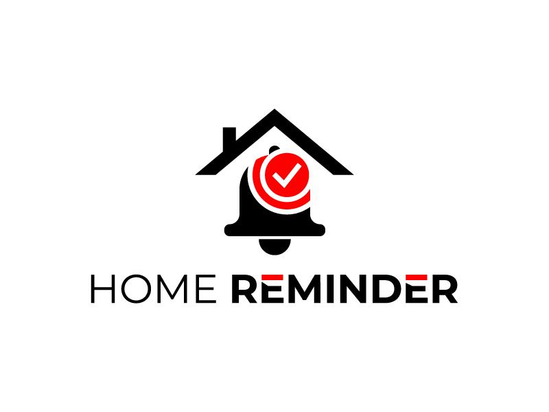 Home Reminder logo design by MUSANG