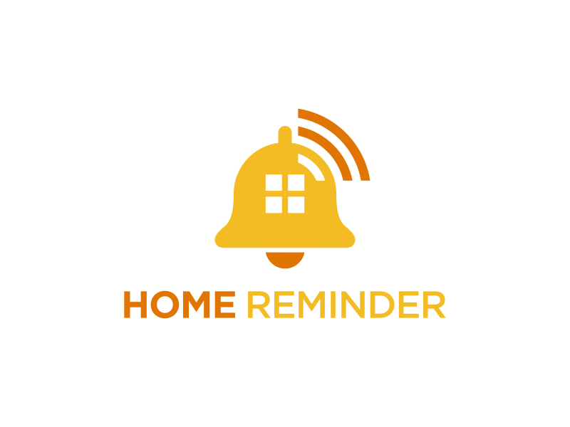 Home Reminder logo design by pionsign