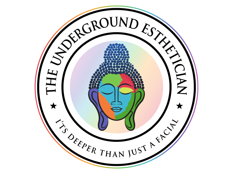 The Underground Esthetician.........it's deeper than just a facial logo design by MUSANG