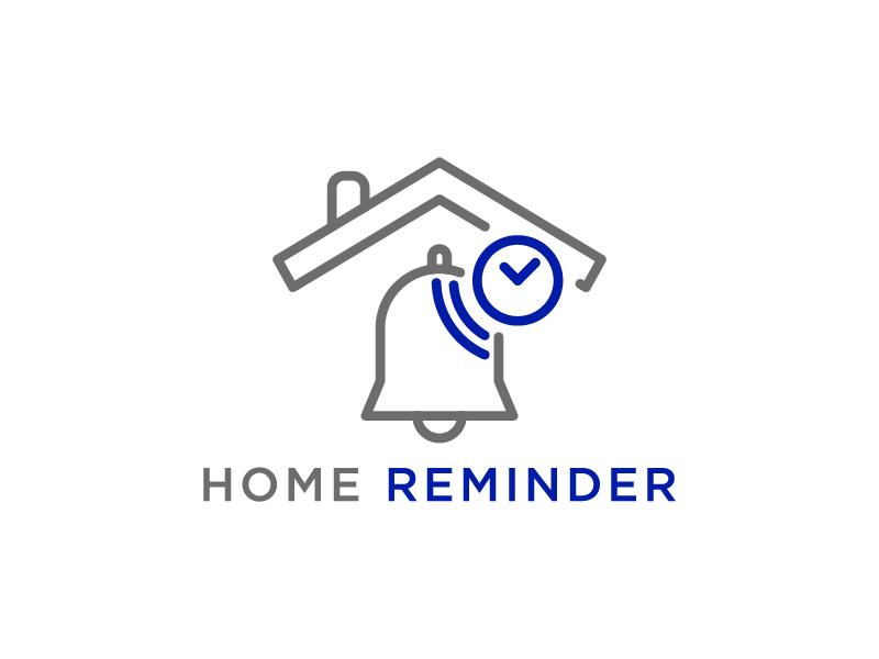 Home Reminder logo design by wongndeso